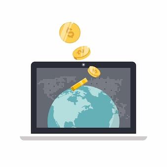 Gagnez de l'argent en ligne et commerce électronique