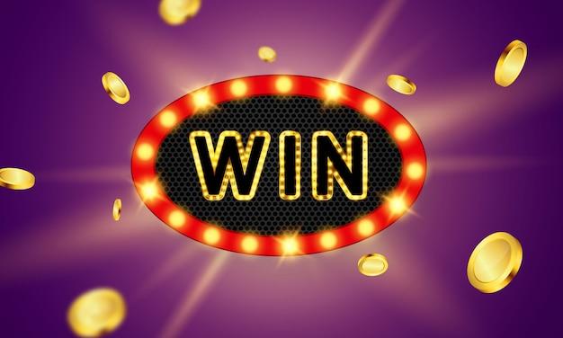 Gain de casino en ligne. smartphone ou téléphone portable, machine à sous, jetons de casino volant des jetons réalistes pour les jeux d'argent, de l'argent pour la roulette ou le poker,