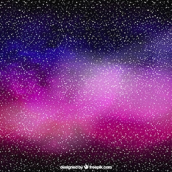 Galaxy full stars background