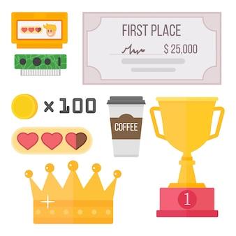 Gaming kiber sport récompense la compétition