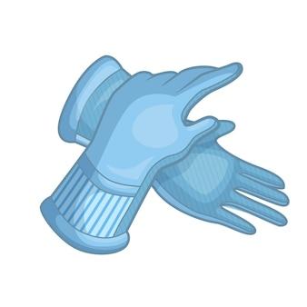 Gants de protection dessinés à la main