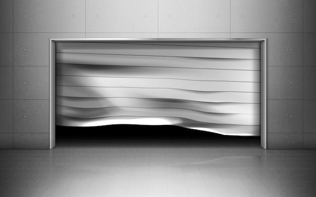 Garage métallique minimal pour les voitures