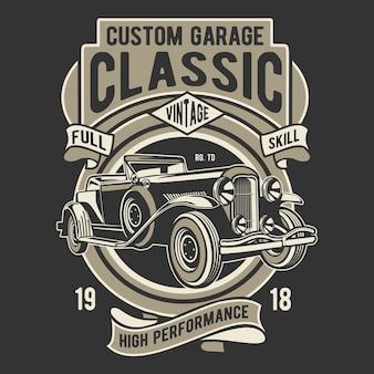 Garage personnalisé classique
