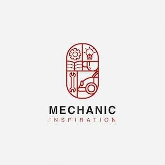 Garage pour obtenir l'inspiration logo