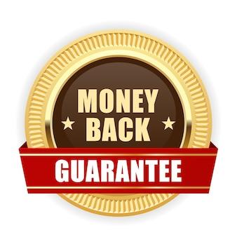 Garantie de remboursement de la médaille d'or