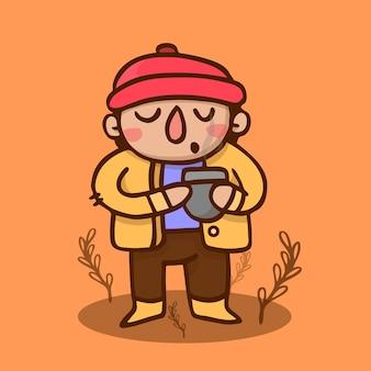 Garçon d'automne