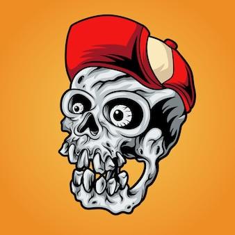 Garçon crâne