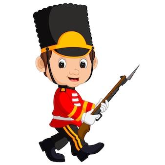 Garde britannique bon posant