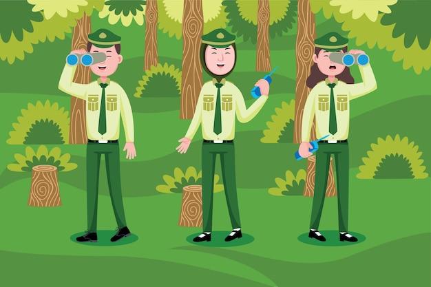 Garde forestier
