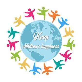 Garder le bonheur des enfants