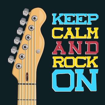 Gardes ton calme et rock