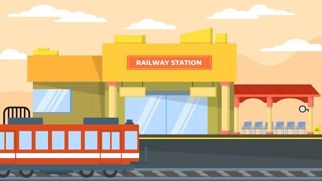 Gare - scènes extérieures