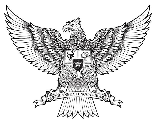 Garuda pancasila né