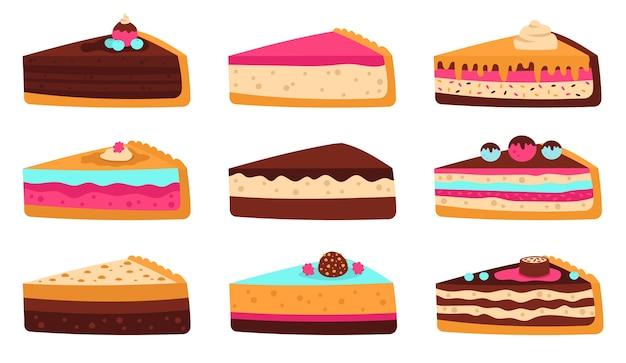 Gâteau éponge en couches délicieux glaçage de pâtisserie fruits