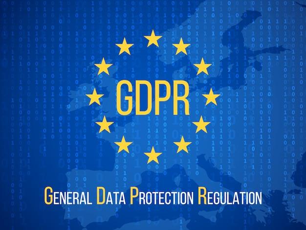 Gdpr règlement général de protection des données