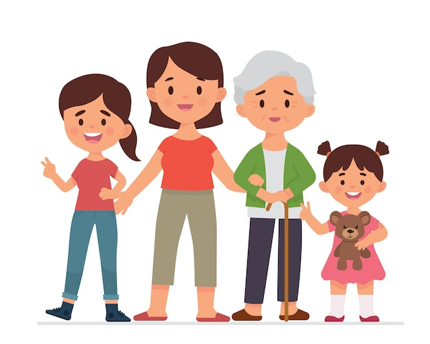 Génération de la famille féminine