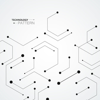 Génétique des hexagones, connexion scientifique, carcasse chimique et réseau social.
