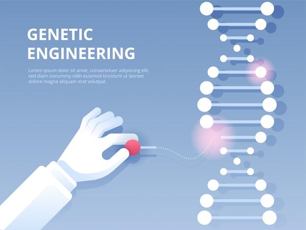 Génie génétique, outil d'édition de gènes crispr