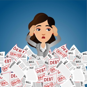 Les gens d'affaires ont souligné avec beaucoup de facture