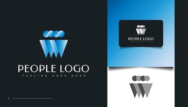 Les gens, la communauté, la famille, le réseau, le hub créatif, le groupe, le logo de connexion sociale ou l'icône pour l'identité de l'entreprise