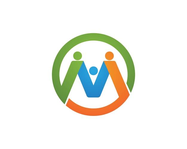 Les gens de la communauté prennent soin des logos logos