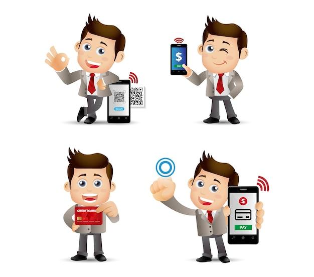 Les gens définissent les paiements mobiles