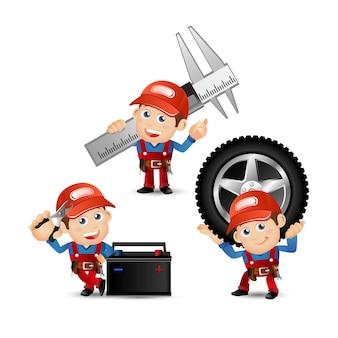 Les gens définissent la profession de mécanicien
