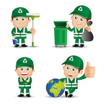Les gens définissent la profession de nettoyeur de rue