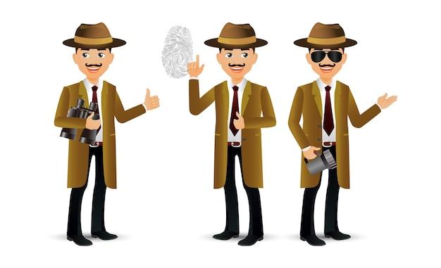 Des gens élégants. professionnel.détective