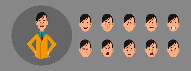 Les gens avec des émotions différentes
