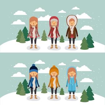 Les gens d'hiver
