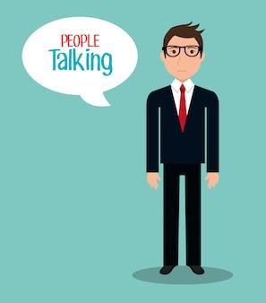 Les gens parlent