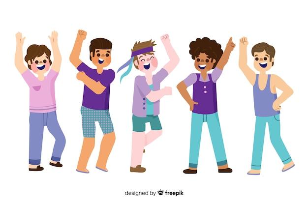 Gens qui dansent