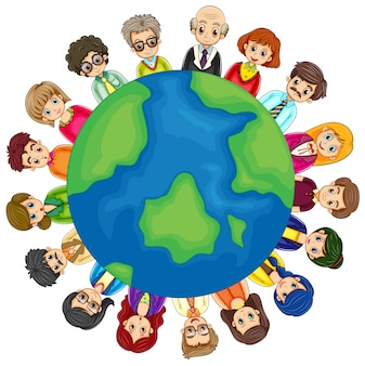 Les gens et la terre