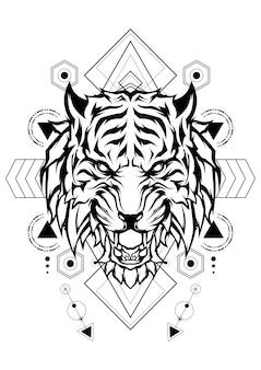 Géométrie sacrée du tigre