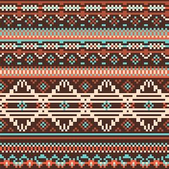 Géométrie tribal pattern