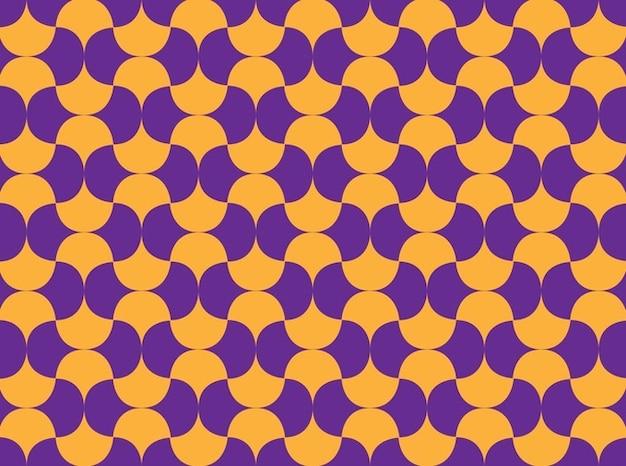 Géométrique vintage pattern transparente
