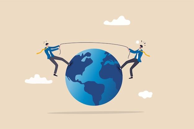 Géopolitique et concurrence pour le concept de leader mondial