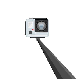 Gérez Le Selfie. Vecteur Premium