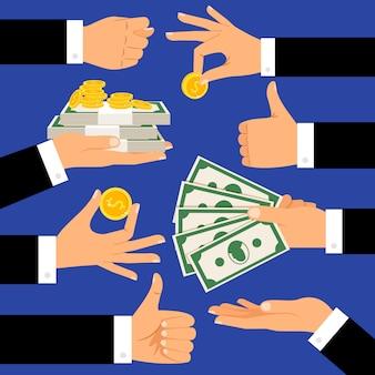 Gestes d'argent