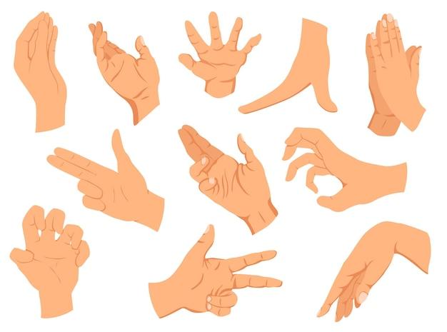 Gestes des mains