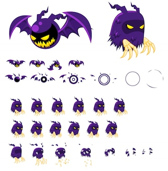 Ghost game sprites
