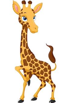 Girafe de dessin animé