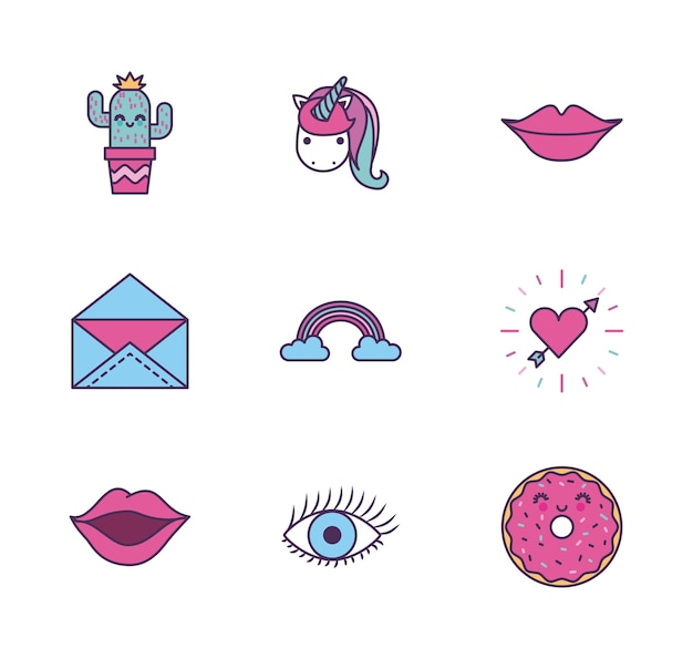 Girly icône image