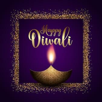 Glighty diwali background