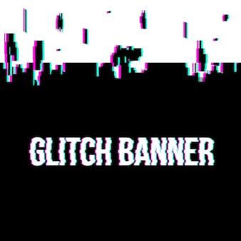 Glitch style fond déformé.