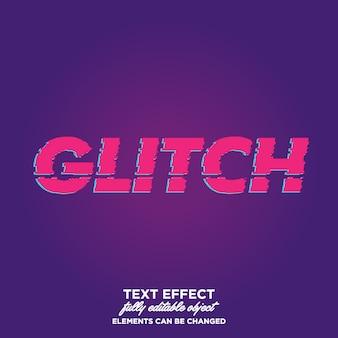 Glitch style de texte
