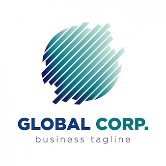Global corporation logo