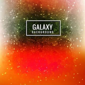 Glowing galaxie fond
