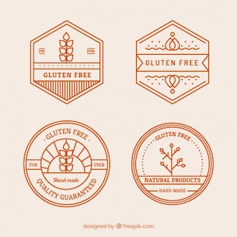 Gluten badges gratuits